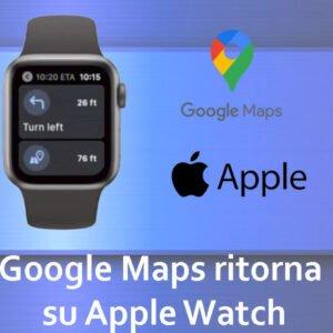 Google Maps e Apple Watch
