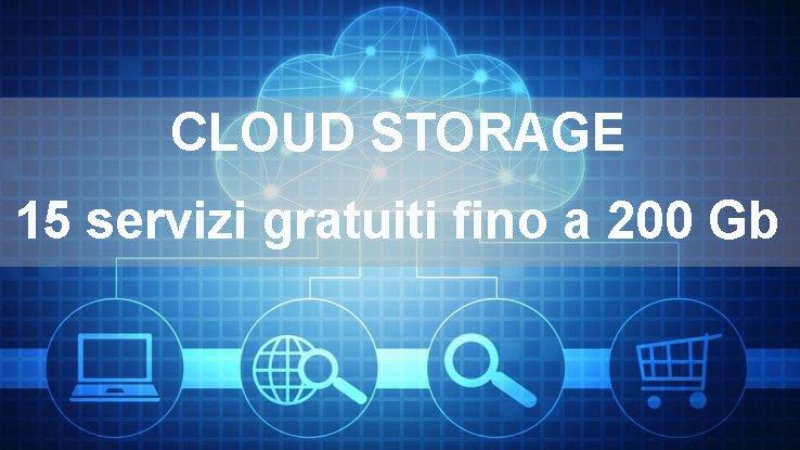 15 servizi di cloud storage gratuiti