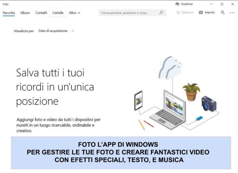 App windows foto