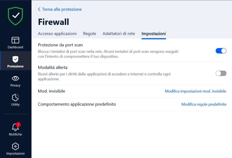 Firewall-bitdefense